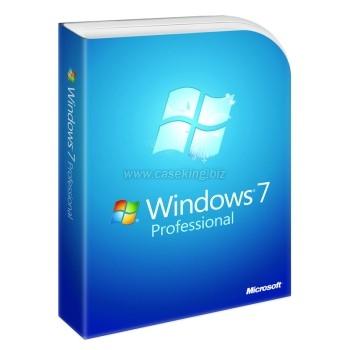 Microsoft Windows 7 Pro 64bit Systembuilder DVD